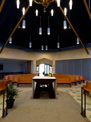 Vue de l'autel
