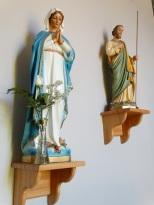 Statues à la chapelle