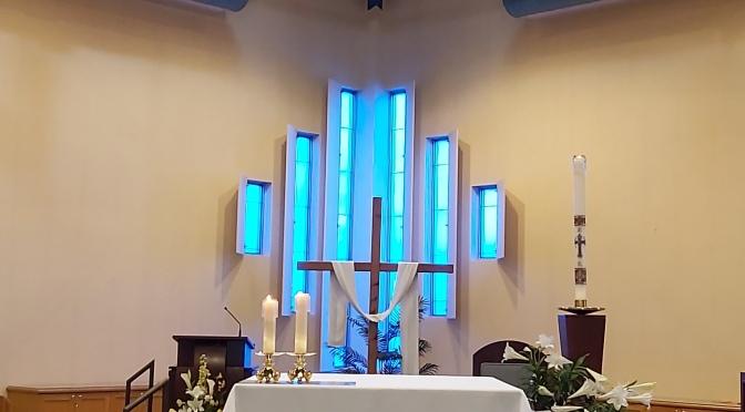 Reprises des messes dominicales à compter du 11 juin
